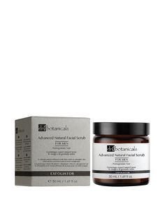 Dr Botanicals Pomegranate Noir Advanced Natural Facial Scrub for Men * Read more  at the image link. (Note:Amazon affiliate link)