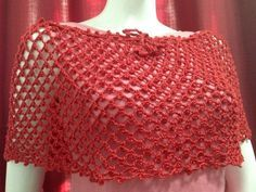 Free Crochet Pattern: Easy Crochet Poncho @nyafrancis what do you think of these....not sure if I like it or not:)