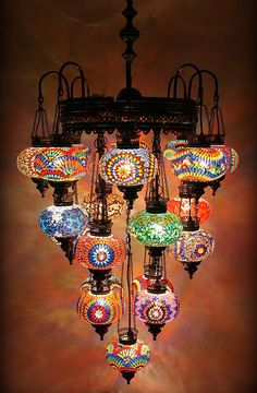 5 ball ottoman turkish lamps chandelier hanging by beautyofturkey mosaic chandelier for more ideas for your custom home contact us at http aloadofball Choice Image