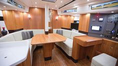 Najad Yachts 411 CC Salon  See more of her here: