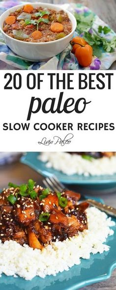 I love my slow cooker. I love coming home to a meal that's ready to eat, especially when I've had a long day and I really don't feel like cooking. I typically prep a few meals on Sunday afternoon, but my slow cooker saves me the rest of the week. Here are 20 awesome paleo slow cooker recipes. Spend
