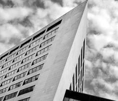 Building with clouds, Toronto - Ken Jones Photoblog