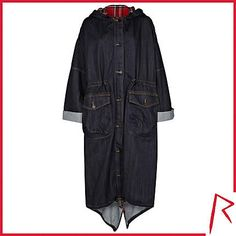 #RihannaforRiverIsland LIMITED EDITION Dark wash Rihanna denim trench coat. #RIHpintowin click here for more details >  http://www.pinterest.com/pin/115334440431063974/