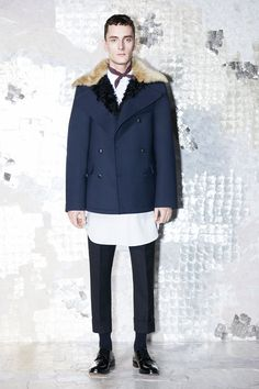Model in Acne Studios Fall 2013 Collection #menswear