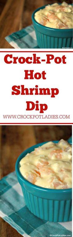 Vegan Crockpot Recipes, Dip Recipes, Slow Cooker Recipes, Seafood Recipes, Appetizer Recipes, Cooking Recipes, Appetizers, Shrimp Dip, Crock Pot Dips