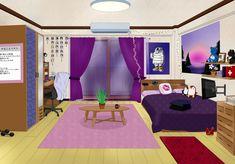 Dorm Layout, Dorm Room Layouts, Dorm Rooms, Dorm Design, Dorm Room Designs, Teenage Girl Bedrooms, Girls Bedroom, Dorm Room Pictures, Casa Anime