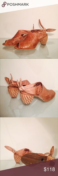 Anthropologie Shoes Anthropologie leather shoes. Size 9. New. Anthropologie Shoes Heels
