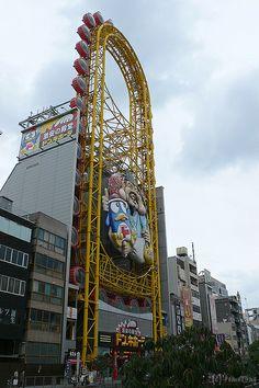 Dotonbori  Osaka prefecture, Japan