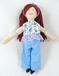 Dress Up Doll for Kids  Redhead Girl Doll  Toy by JoellesDolls