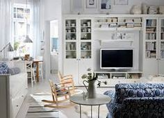 what to do with large wall nook in living room - Google Search Ikea Lounge, Bookshelves With Tv, Wall Nook, Ikea Living Room, Ikea Pax, Cheap Home Decor, Crate And Barrel, Sweet Home, Interior Design