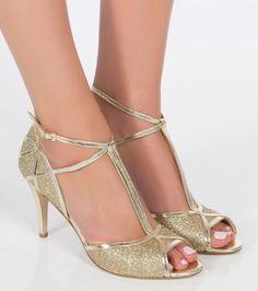 Chaussure mariage Charlotte Mills - Betty Gold, 320€
