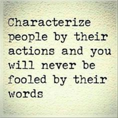 True that!!! Characterize ..