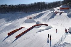 PyeongChang Winter Olympics 2018 Venues   Photo 3   TMZ.com Pyeongchang 2018 Winter Olympics, Snow, Outdoor, Outdoors, Outdoor Games, The Great Outdoors, Eyes, Let It Snow