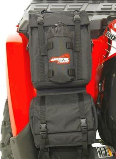 AM. TRAILS ATV FENDER BAG BLACK