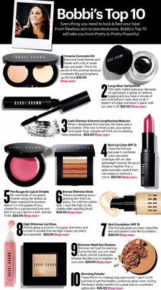 Bobbi Brown tutorial