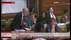 House of Commons debate: Should Donald Trump be awarded a State visit