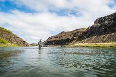 Einarsson fly reels at Nordura river Iceland. Fly Reels, Fishing Reels, Fly Fishing, Trout, Iceland, Salmon, Photo Galleries, Around The Worlds, River