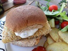Spicy Crispy Fish Sandwich
