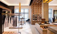 Check out our Joe Black at Emporium images, now up on our website! Great shots by Retail Store Design, Retail Shop, Fashion Retail Interior, Mim Design, Shop House Plans, Retail Space, Ceiling Design, Lighting Design, Arquitetura