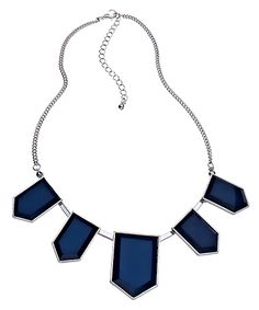 """There is something awesomely Ravenclaw about this shield necklace. Though I take exception to describing these as """"hexagons."""" Really."""