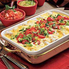 Breakfast Enchiladas!  These look amazing!
