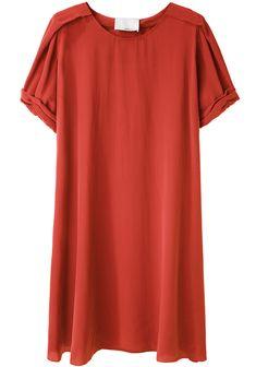 3.1 Phillip Lim /  Silk T-Shirt Dress