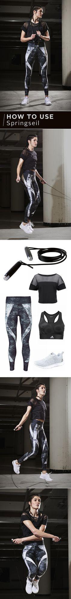 Ob Hardcore-Athlet oder Hobbysportler: Seilspringen ist dein effektives Training für den ganzen Körper! Hier findest du alles, was adidas Performance, Puma und Reebok für dein Spring-tastisches Workout zu bieten haben!