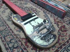 Guitarras feita com shapes   Criatives   Blog Design, Inspirações, Tutoriais, Web Design