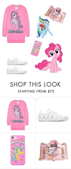 """My Little Pony"" by shardet28 ❤ liked on Polyvore featuring Moschino, Jonathan Saunders, My Little Pony, contestentry and polyPresents"