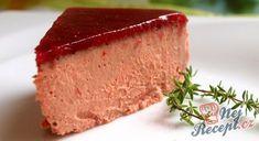 Fantastická domácí máslová paštika z kuřecích jater   NejRecept.cz Meatloaf, Cornbread, Vanilla Cake, Cheesecake, Food And Drink, Low Carb, Menu, Pudding, Snacks