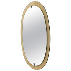 Italian Mirror with Colored Glass at Angelia Ball London via 1st Dibs