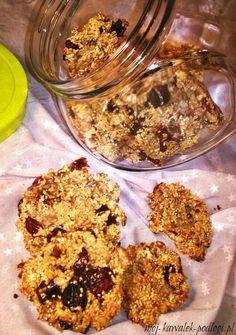 Chrupiące ciastka amarantusowe bez mąki i cukru | Mój kawałek podłogi