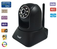 EasyN Wireless Pan Tilt Indoor Security IP Network Camera phone View Nightvision