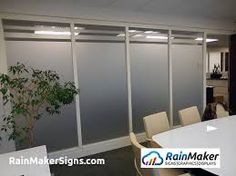 Image result for frosted vinyl conference room windows