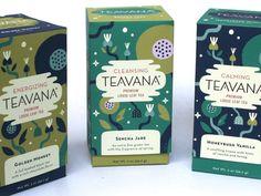 Teavana Boxes designed by Alexander Vidal. Tea Design, Label Design, Book Cover Design, Book Design, Design Art, Tea Packaging, Packaging Design, City Branding, Identity Branding