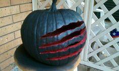 Nightmare on elm street pumpkin