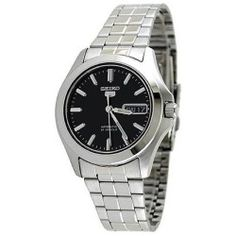 Seiko Men's '5 Automatic' Silvertone Stainless Steel Automatic Watch - product - Product Review
