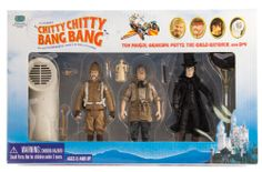 Set of 4 Chitty Chitty Bang Bang Character Figurines Mint in Box