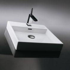 WS Bath Collections Ceramica Valdama Plain Wall Mounted / Vessel Bathroom Sink & Reviews | Wayfair