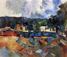 Landscape by Paul Cezanne