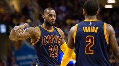 Lebron James and Kyrie Irving Go Cavs!!!