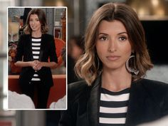 India de Beaufort. cute hairstyle. love the blazer