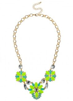 Ives Flower Strand Neon Yellow at Prima donna ($18.99)