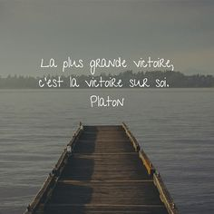 La plus grande. Positive Mind, Positive Attitude, Positive Thoughts, Insightful Quotes, Inspirational Quotes, Boxer Abs, French Quotes, Dream Quotes, Live Love