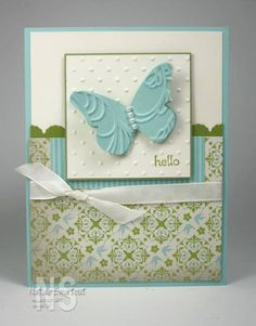 Beautiful Butterflies by mnstamper89 - Cards and Paper Crafts at Splitcoaststampers