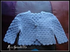 Crochet - Chaquetita bebe