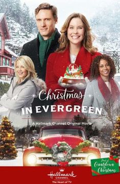 Its a Wonderful Movie - Your Guide to Family and Christmas Movies on TV: Christmas In Evergreen - a Hallmark Channel Original Countdown to Christmas Movie starring Ashley Williams! Hallmark Channel, Films Hallmark, Hallmark Holiday Movies, Hallmark Weihnachtsfilme, Christmas Movies On Tv, Hallmark Cards, Family Christmas, Film 2017, High School Musical