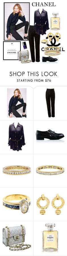 """""""Chanel"""" by justjustin ❤ liked on Polyvore featuring Chanel, 3x1, Karl Lagerfeld, Todd Reed and Sethi Couture"""