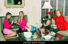Download this stock image: 22.JULY.2011. PALM SPRINGS  ROMINA POWER WITH HER MOTHER LINDA CHRISTIAN AND FAMILY AT HER HOME IN PALM SPRINGS         BestImageRETROSPECTIVE-LINDA-CHRISTIAN-15PH230711 ROMINA POWER EN FAMILLE A PALM SPRINGS AVEC SA MERE LINDA CHRISTIAN - EMH7AC from Alamy's library of millions of high resolution stock photos, Stock Photo, illustrations and vectors.