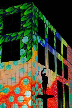 Canberra light festival - Australia